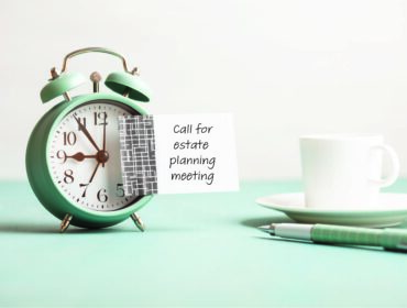 Estate plan procrastinator